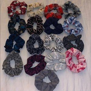 17 PC Custom Scrunchie Set